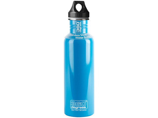 360° degrees Stainless Drink Bottle 750ml Sky Blue